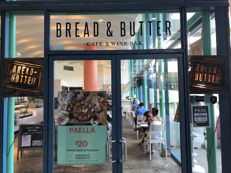 カフェ BREAD & BUTTER