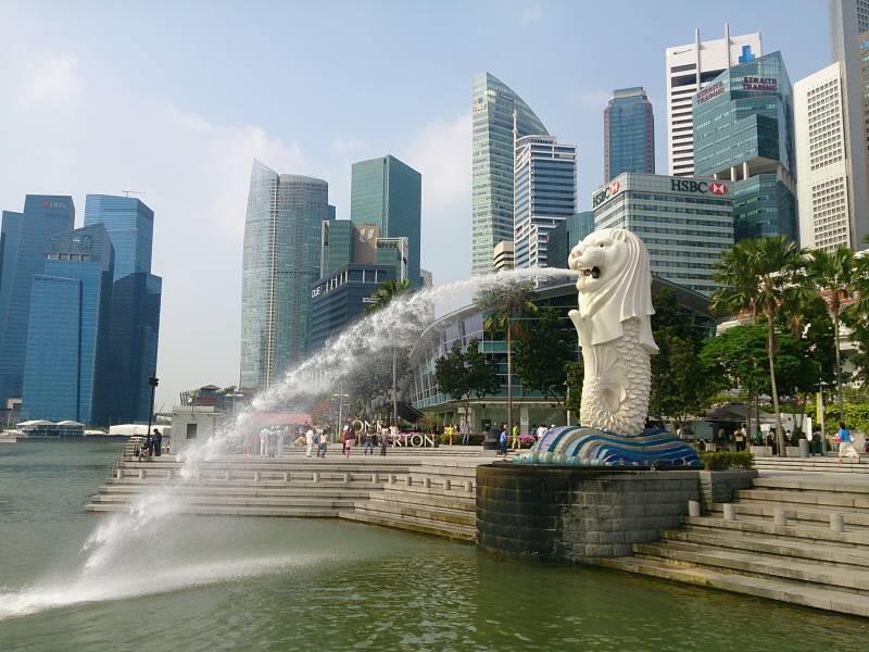 自分で作る シンガポールへの旅