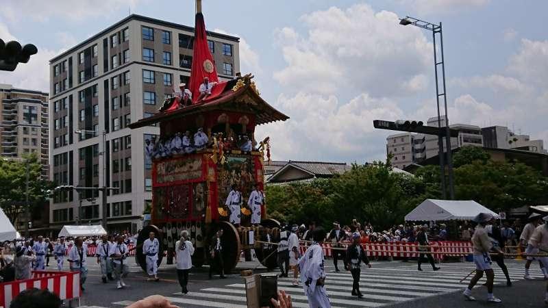 2019年祇園祭(前祭)と貴船川床