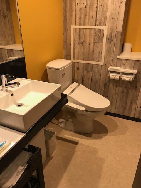 ラ・ジェント・ホテル トイレ