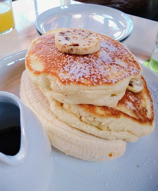 ハワイの大人気パンケーキ(ワイキキから徒歩圏内)